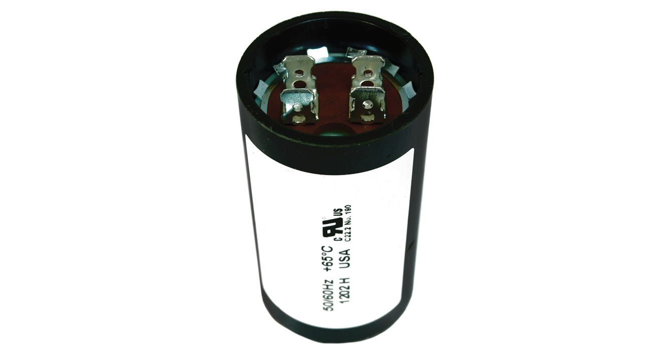 88 106 mfd uf 220 250v round electric motor start for Capacitors for electric motors