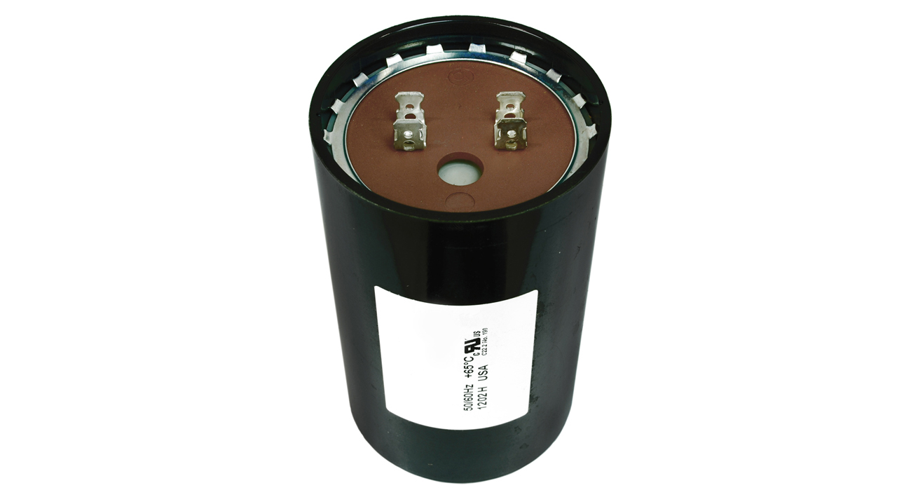 Start capacitor 630 750 mfd uf 220 250v round ac electric for Capacitors for electric motors