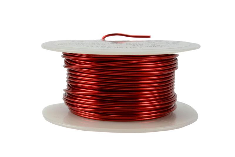 Temco Magnet Wire 16 Awg Gauge Enameled Copper 8oz 155c
