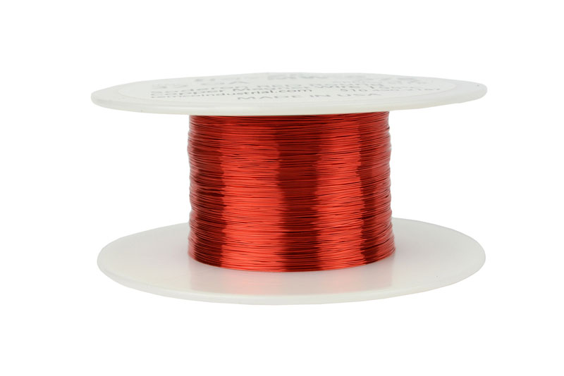 Temco magnet wire 32 awg gauge enameled copper 2oz 155c 611ft coil temco id mw0078 gauge 32 awg conductor solid round copper 999 pure weight 2 oz length approx 611 ft insulation temp rating 155c 311f greentooth Image collections
