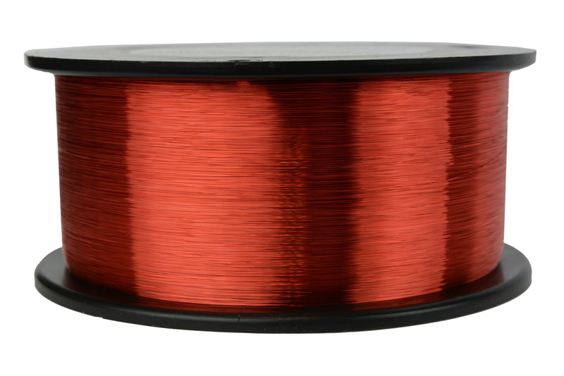 Temco magnet wire 38 awg gauge enameled copper 1lb 155c 19260ft coil temco id mw0095 gauge 38 awg conductor solid round copper 999 pure weight 1 lb length approx 19262 ft insulation temp rating 155c 311f greentooth Choice Image