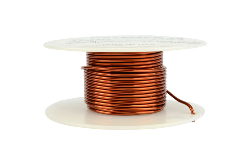 Temco magnet wire 16 awg gauge enameled copper 2oz 15ft 200c coil temco id mw0134 gauge 16 awg conductor solid round copper 999 pure weight 2 oz length approx 16 ft insulation temp rating 200c 392f keyboard keysfo Gallery
