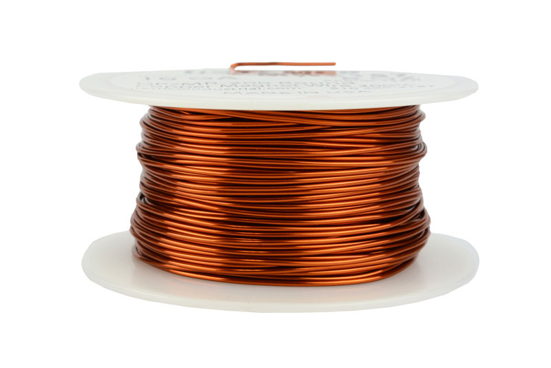 Temco magnet wire 19 awg gauge enameled copper 200c 8oz 125ft coil temco id mw0157 gauge 19 awg conductor solid round copper 999 pure weight 8 oz length approx 125 ft insulation temp rating 200c 392f keyboard keysfo Gallery