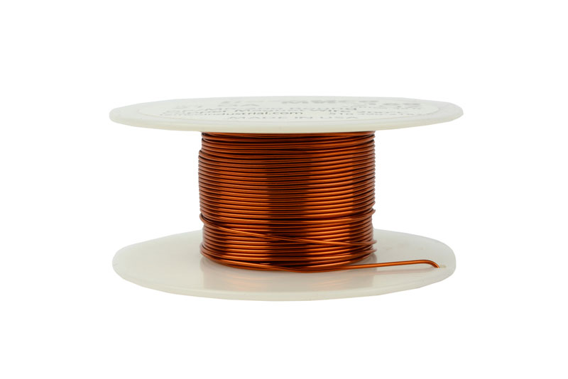 Temco magnet wire 21 awg gauge enameled copper 200c 2oz 49ft coil temco id mw0169 gauge 21 awg conductor solid round copper 999 pure weight 2 oz length approx 49 ft insulation temp rating 200c 392f keyboard keysfo Gallery