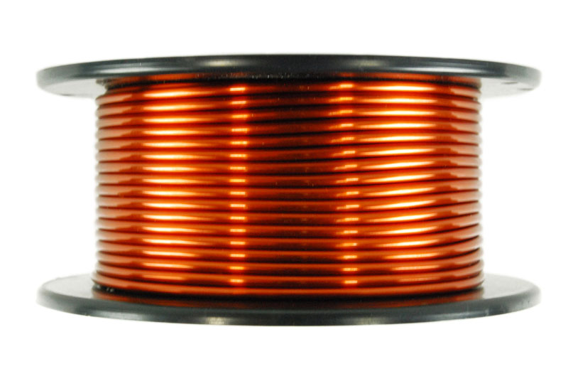 TEMCo Magnet Wire 10 AWG Gauge Enameled Copper 15lb 47ft 200C Coil