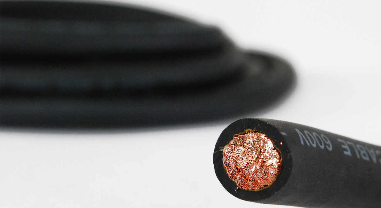 TEMCo 2 Gauge AWG Welding Lead & Car Battery Cable Copper Wire ...